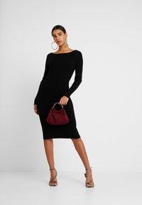 4th & Reckless - LOLA - Pletené šaty - black - 1