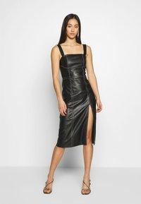4th & Reckless - MARCELLA - Korte jurk - black - 0