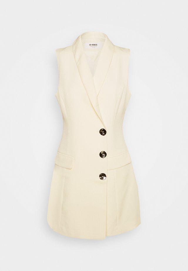 MAISIE BLAZER DRESS - Shift dress - cream
