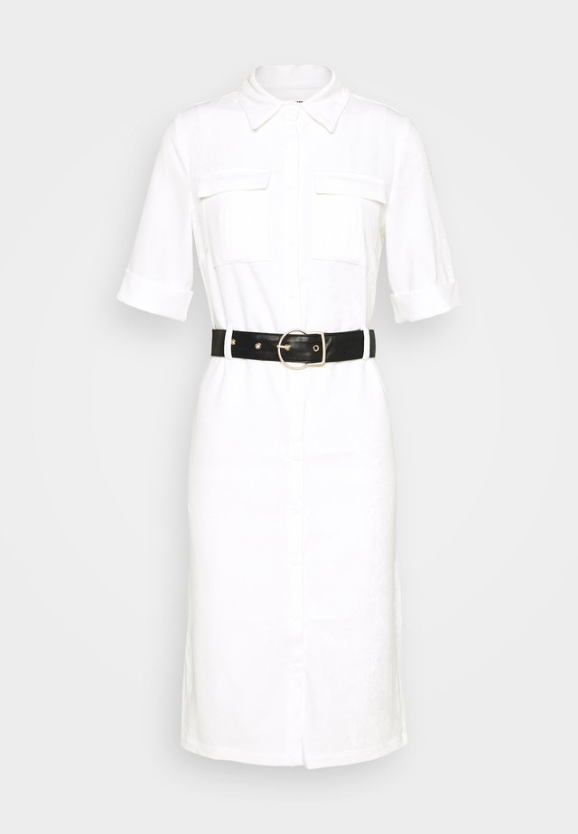 LORI BELTED DRESS - Korte jurk - cream