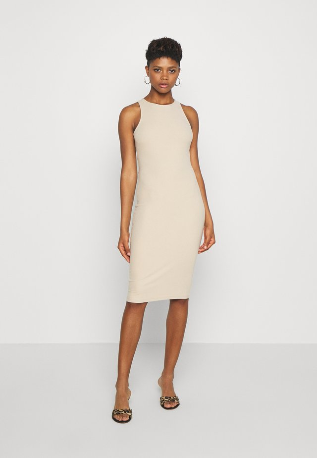 AVENUE DRESS - Shift dress - nude