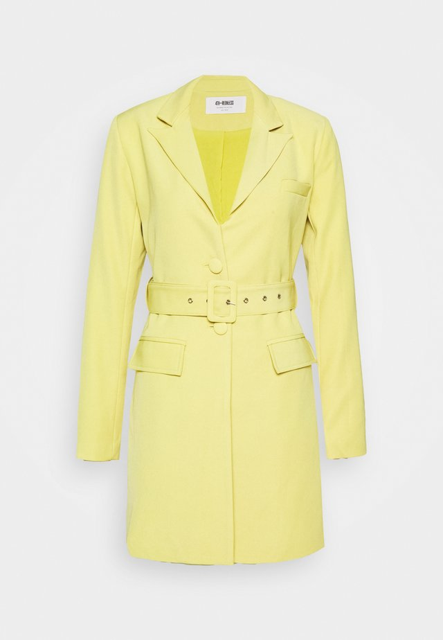 BLAZER DRESS - Shift dress - pistachio
