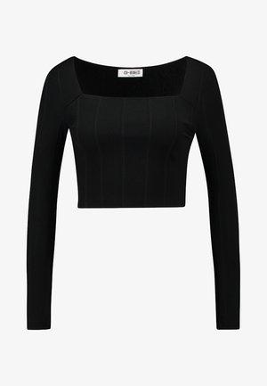 LENNON - Top sdlouhým rukávem - black