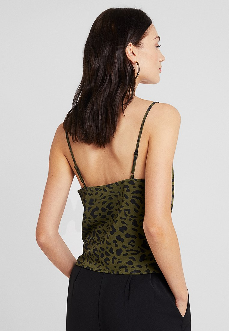 4th & Reckless ANIMAL BEAUTY - Top khaki