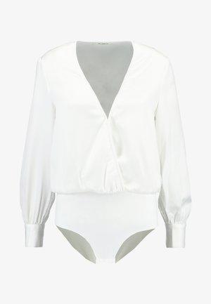EXCLUSIVE ANIMAL SUZIE BODYSUIT - Blouse - white