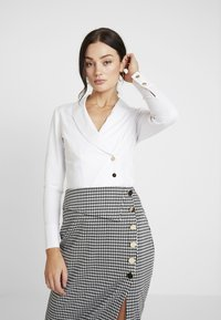 4th & Reckless - Button-down blouse - white - 0