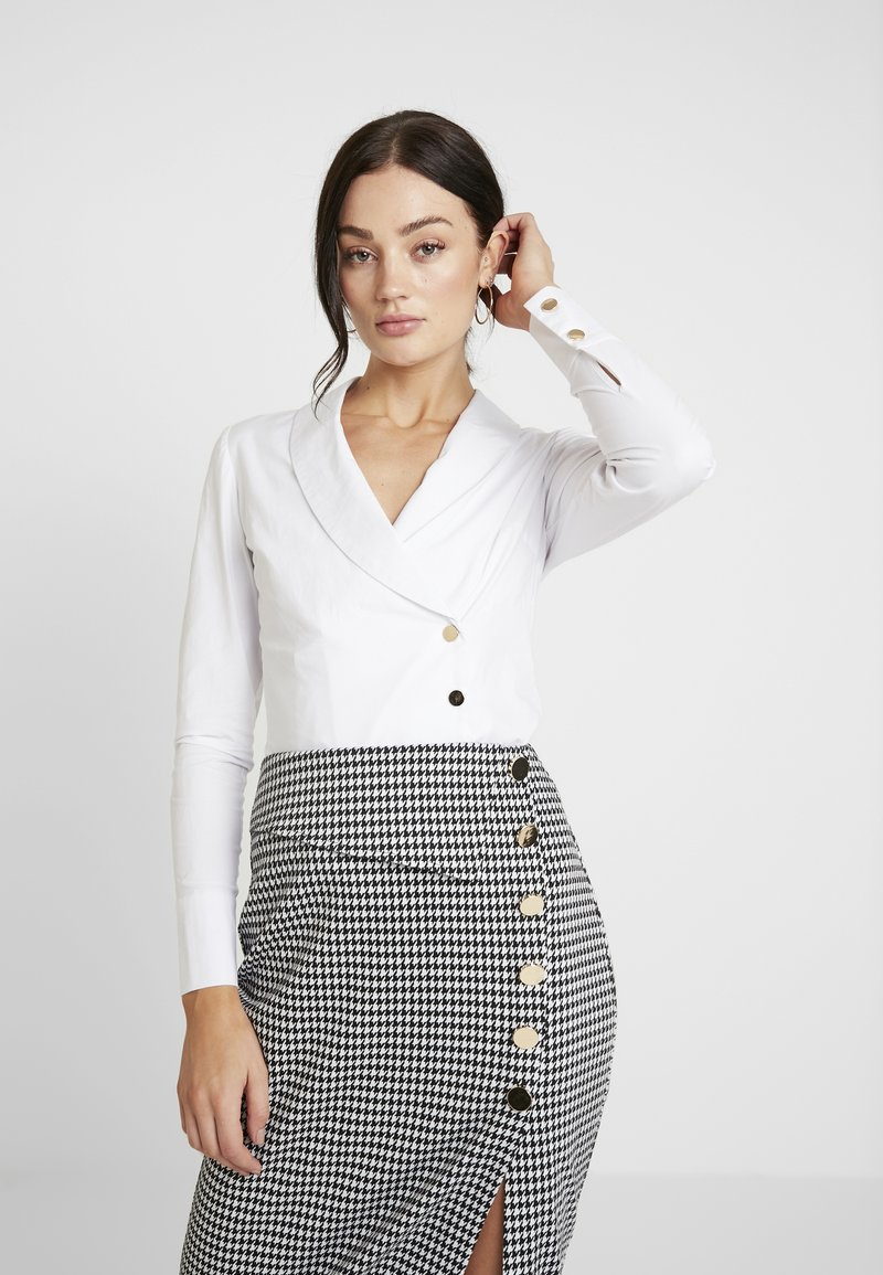 4th & Reckless - Button-down blouse - white