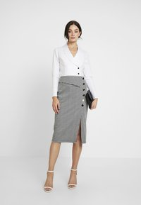 4th & Reckless - Button-down blouse - white - 1
