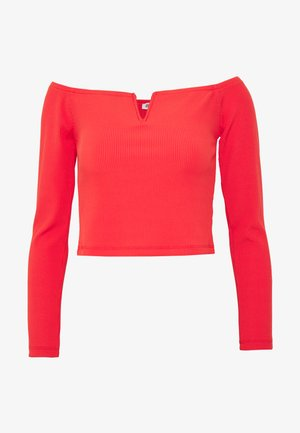 NORA - Long sleeved top - red
