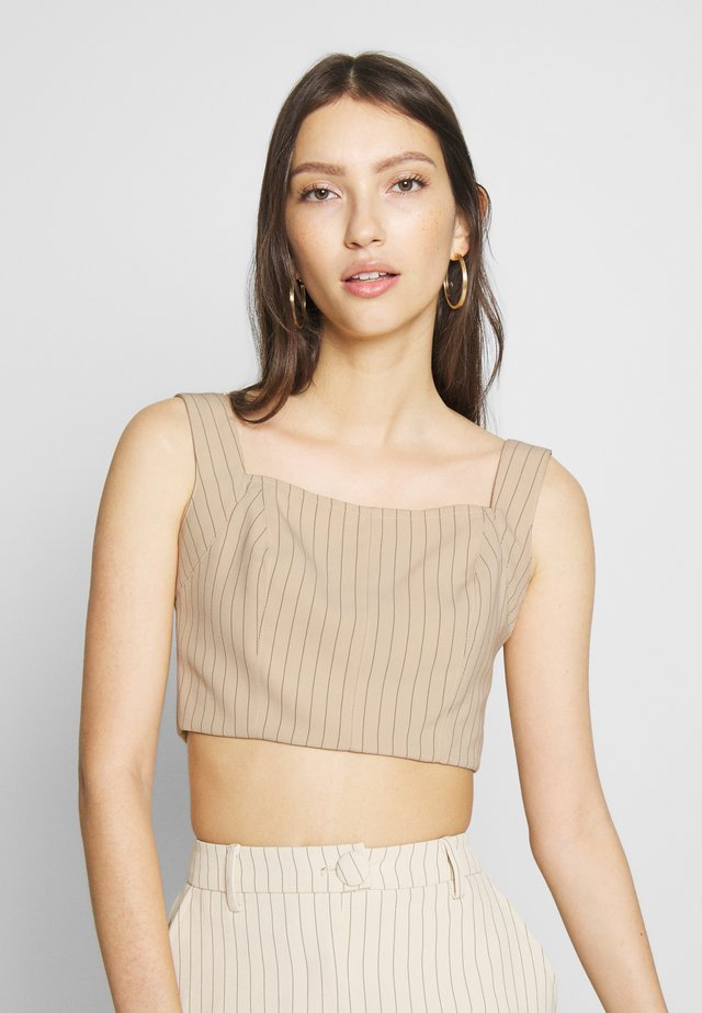 WEST AMENDED - Blouse - nude