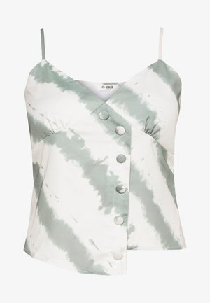 HULLY - Camicetta - beige/green