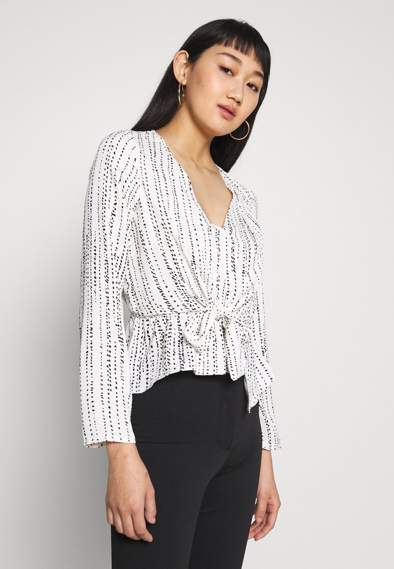 4th & Reckless - WAVE - Blouse - white