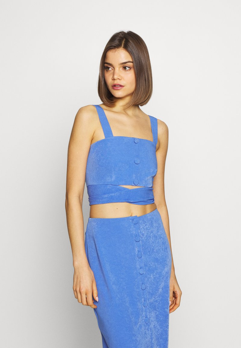 4th & Reckless - RENEE TOP - Topper - blue