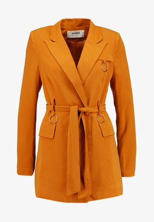 HARRINGTON BELTED WITH RING DETAIL - Cappotto corto - ginger
