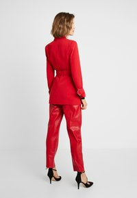 4th & Reckless - DION JACKET - Blazer - red - 2