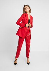 4th & Reckless - DION JACKET - Blazer - red - 1