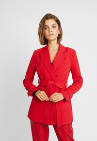 4th & Reckless - DION JACKET - Blazer - red - 0