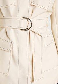 4th & Reckless - KENNEDY JACKET - Short coat - cream - 6