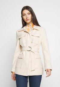 4th & Reckless - KENNEDY JACKET - Short coat - cream - 0