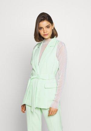 JETT JACKET - Waistcoat - mint