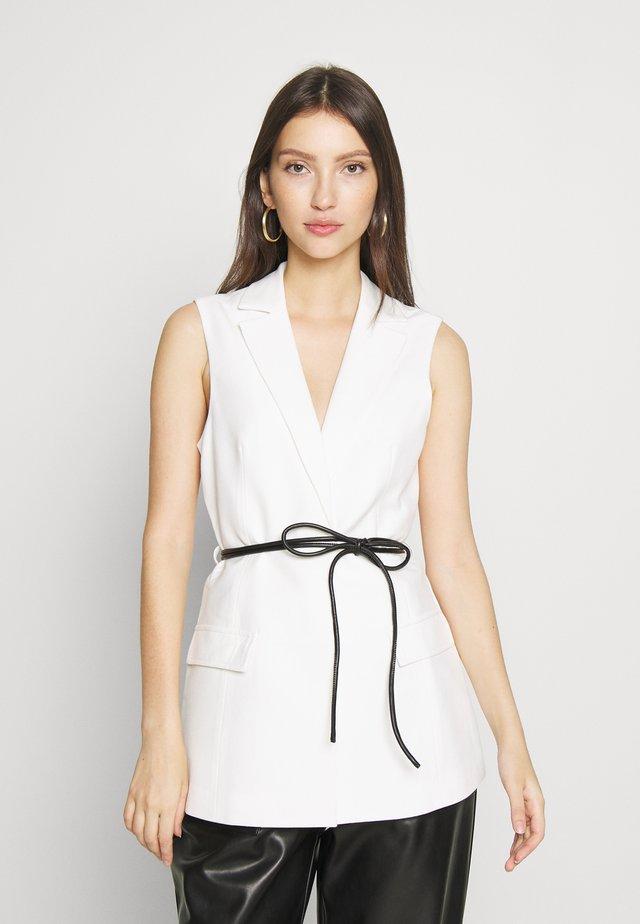 MOLLIE - Waistcoat - white
