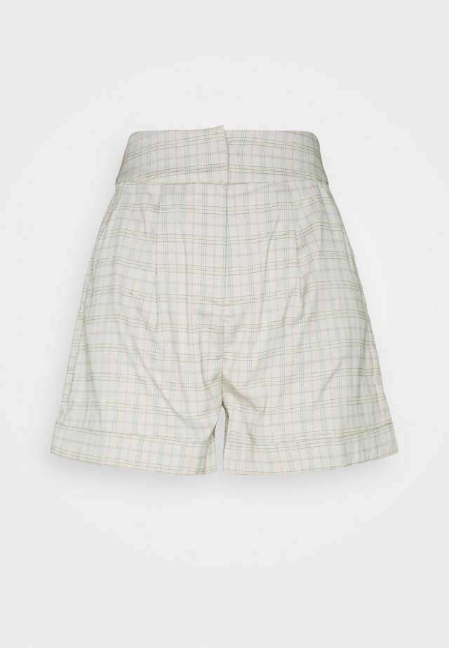 REMI SHORT - Kraťasy - light grey