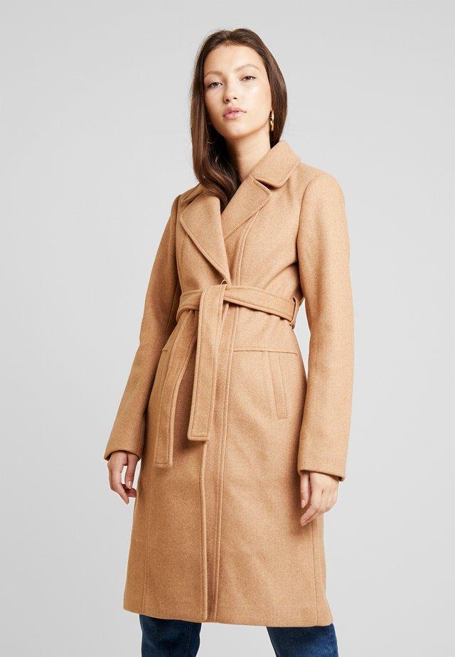 TRACIE - Classic coat - camel