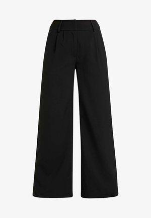 TRUE TROUSER - Pantaloni - black