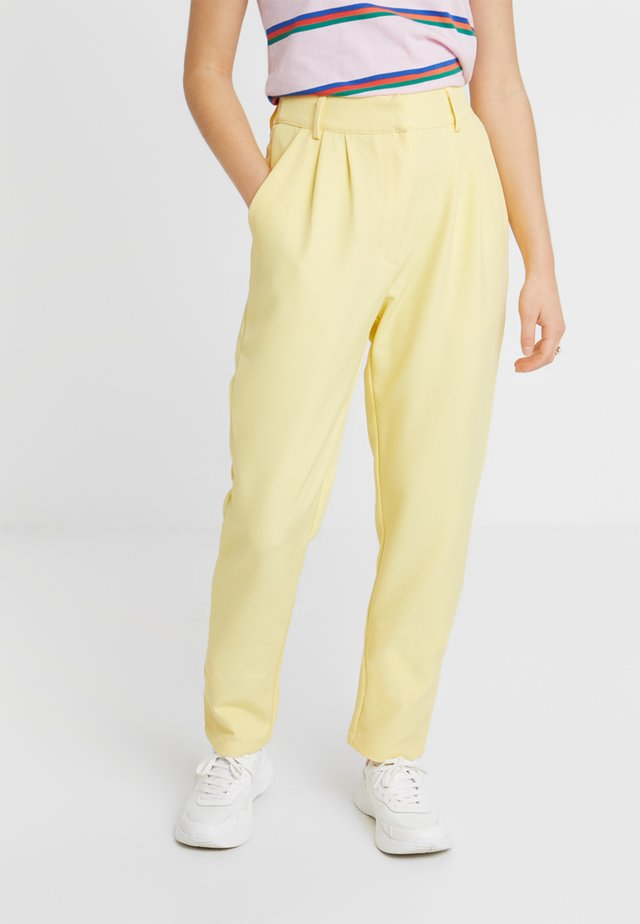 NAYA TROUSER - Broek - yellow