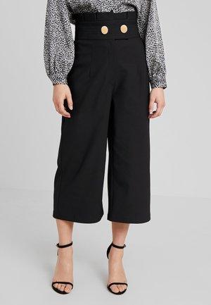 PENNY CULOTTE - Pantaloni - black