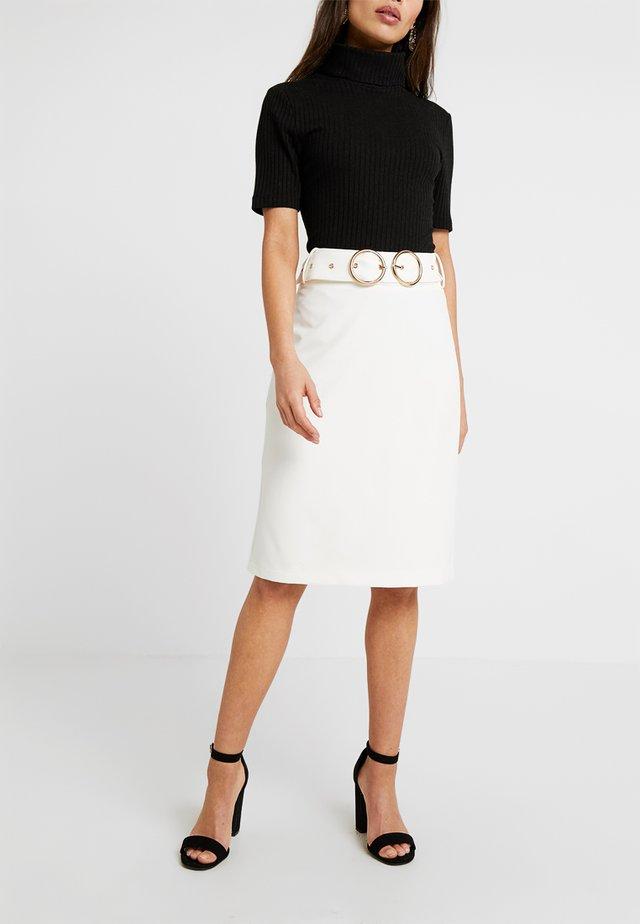 SUMMER SKIRT - Blyantnederdel / pencil skirts - white