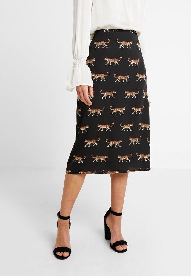 FINLEY - Pencil skirt - black