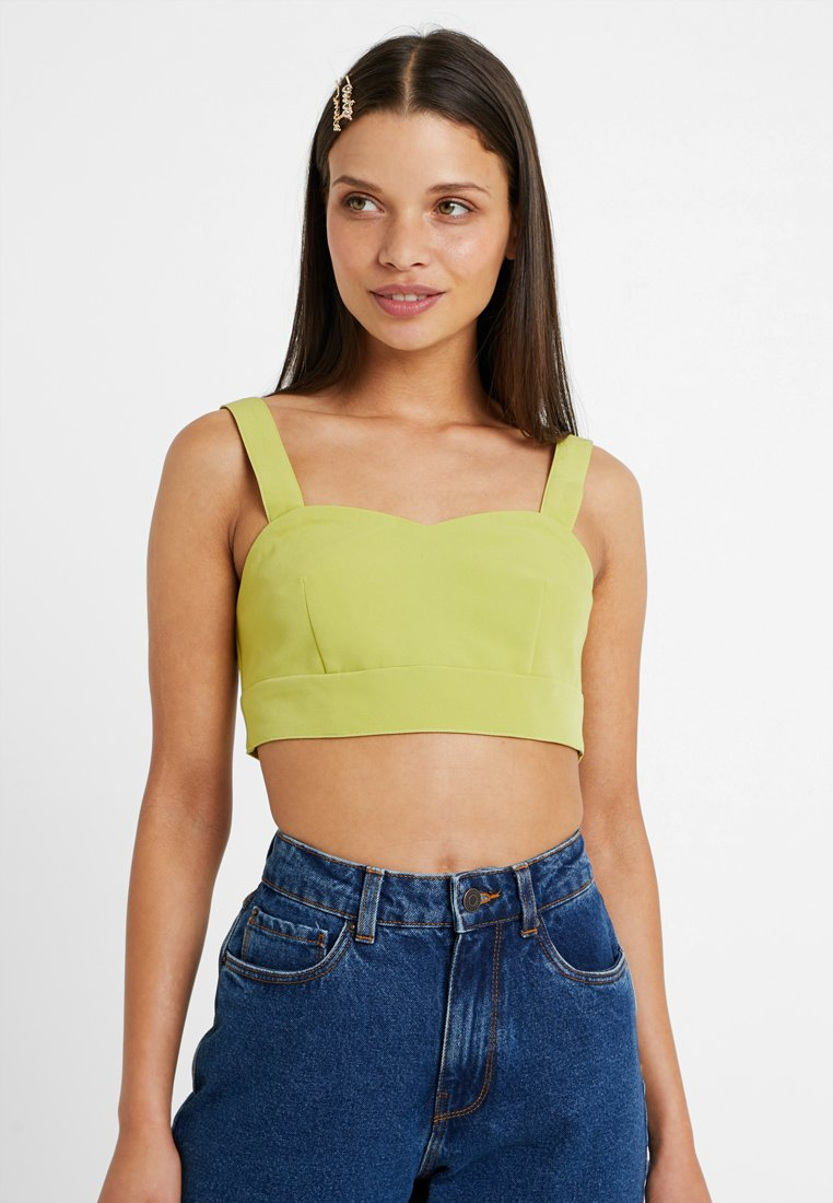 4th & Reckless Petite - PAYNE - Blouse - lime