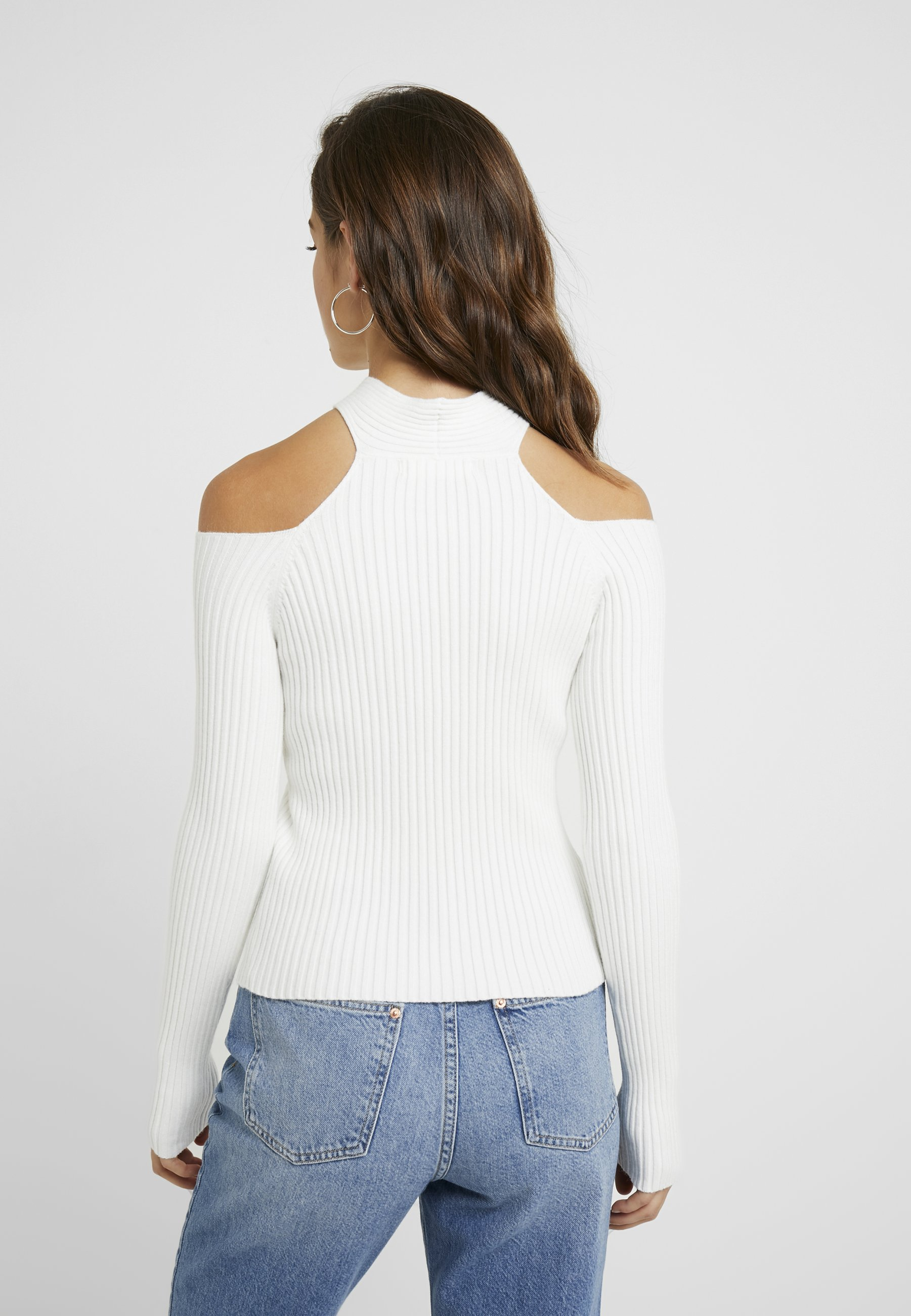 Sleeved Long Reckless State Jumper With White CrossPullover Petite 4thamp; Halterneck doeWxCrB