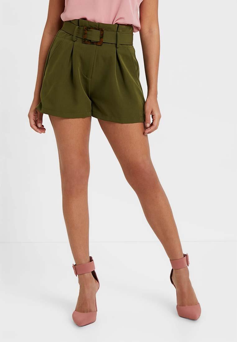 4th & Reckless Petite - KELLY - Shorts - khaki