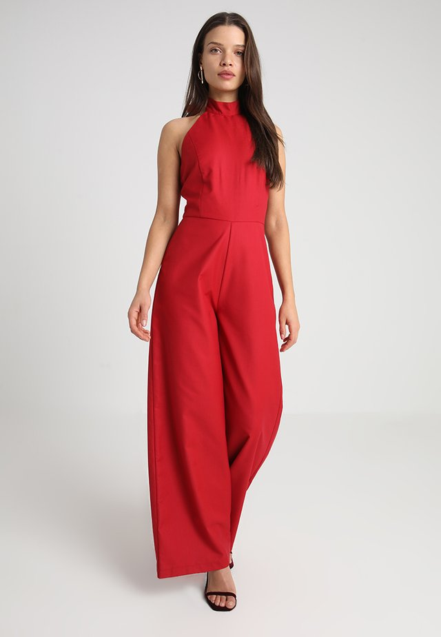 REBEL - Jumpsuit - red