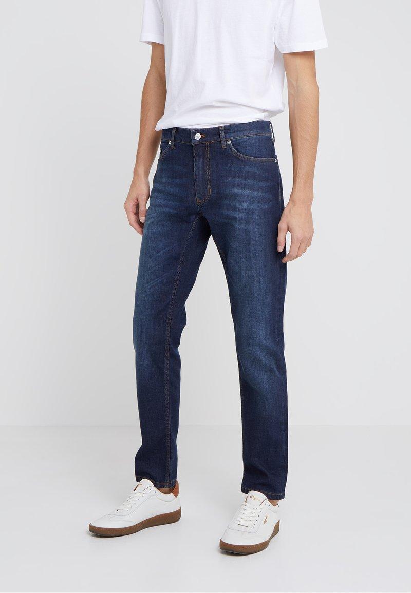 Velour by Nostalgi - JEREMY  - Slim fit -farkut - worn blue