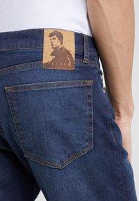 Velour by Nostalgi - JEREMY  - Slim fit -farkut - worn blue - 5