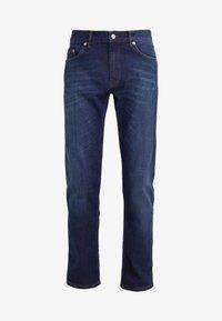 Velour by Nostalgi - JEREMY  - Slim fit -farkut - worn blue - 4