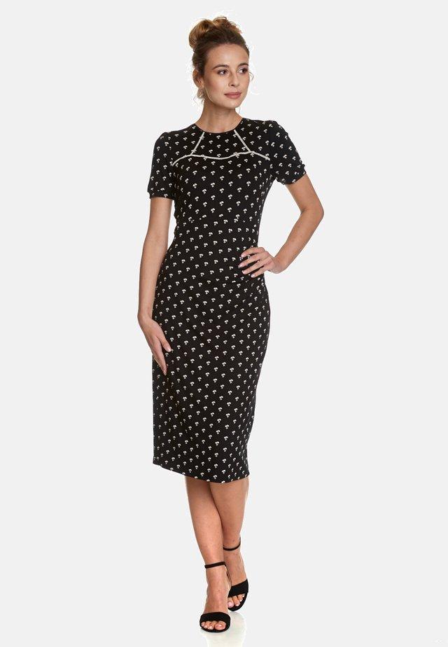 MARGUERITE - Jersey dress - black