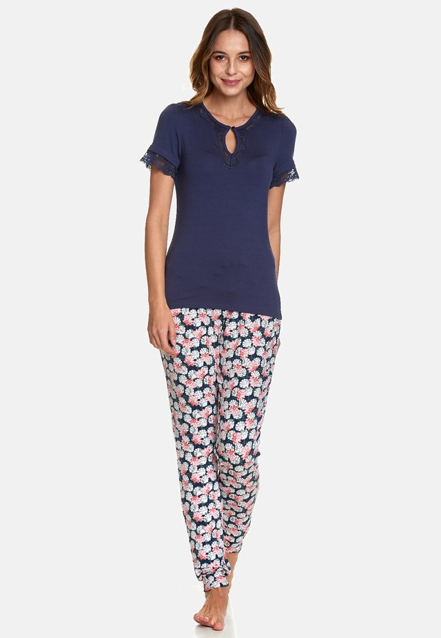 SET - Pyjama set - blue allover