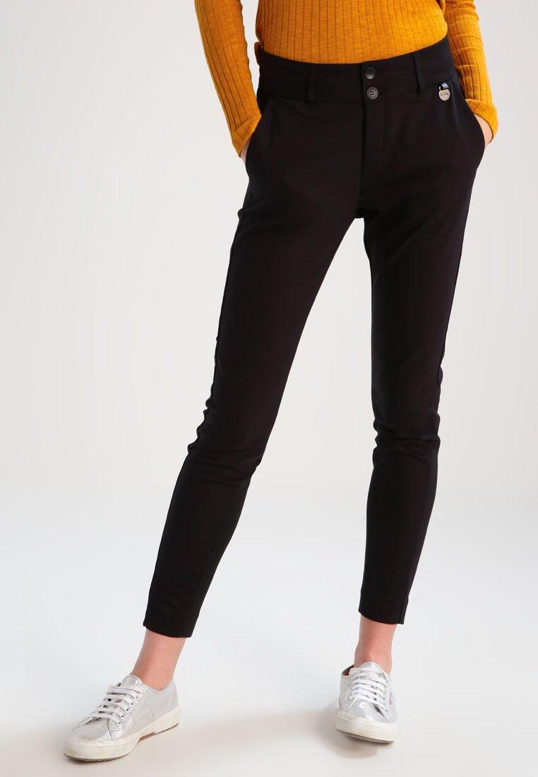 Mos Mosh - BLAKE NIGHT - Trousers - black