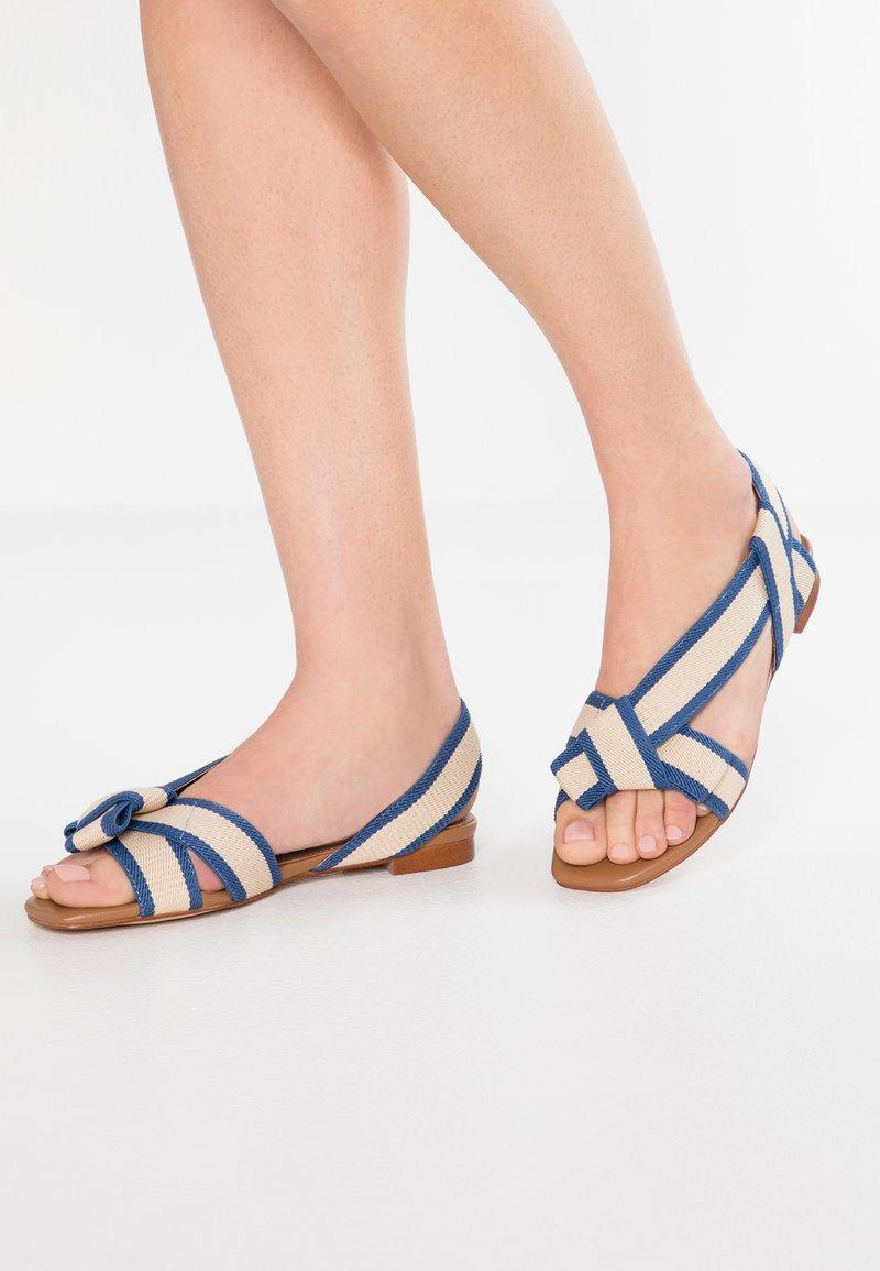 Bibi Lou - Sandals - bicolor/azul