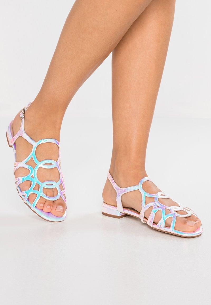 Bibi Lou - Sandals - silver