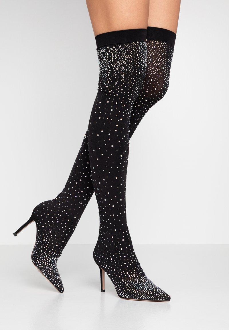 Bibi Lou - High heeled boots - cristal
