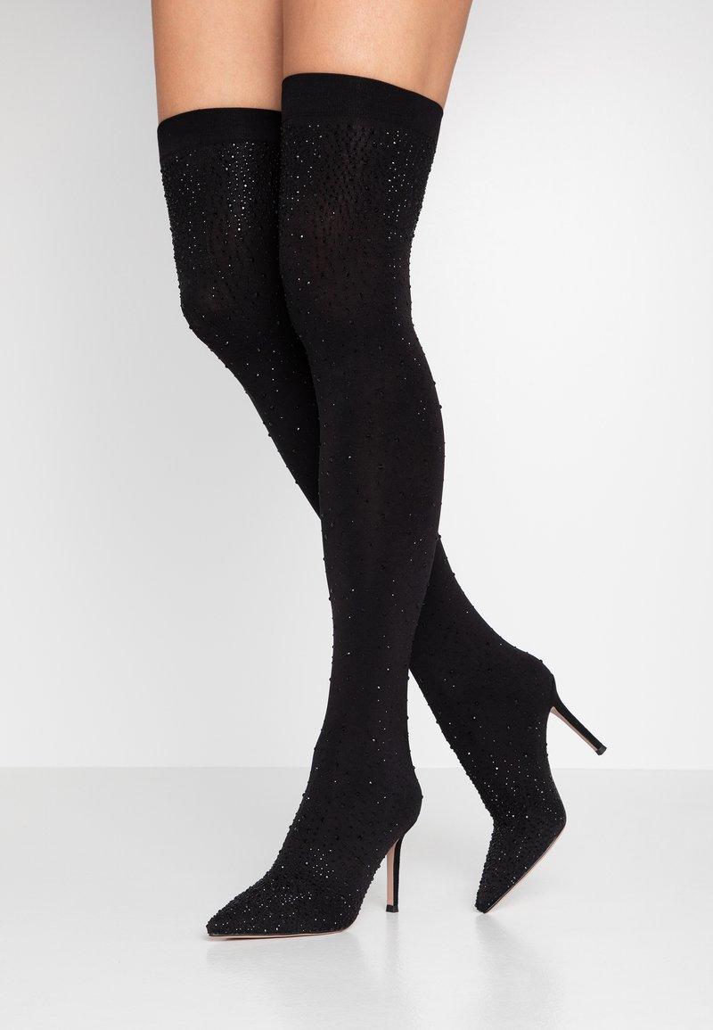 Bibi Lou - High Heel Stiefel - black