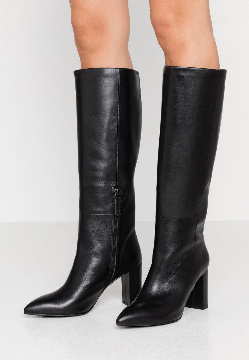 Bibi Lou - Højhælede støvler - black