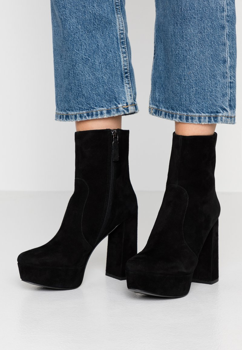 Bibi Lou - High heeled ankle boots - black