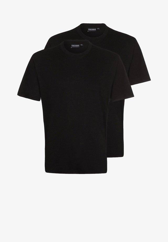 2 PACK - Nattøj trøjer - black
