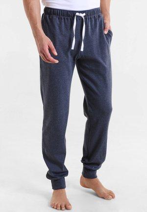 Pyjamasbyxor - blau/dunkel melange